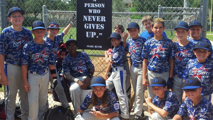 Fort Pierce Little League wins State