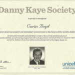 Unicef recognizes Boyd