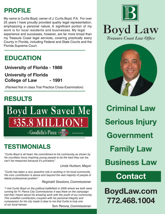 Curtis Boyd Resume